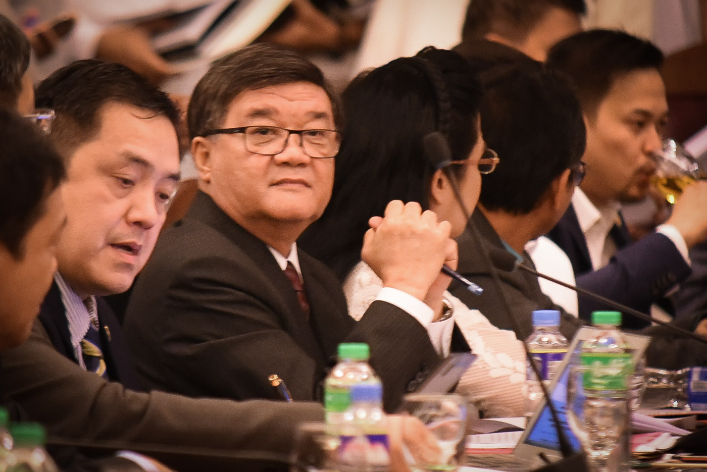 DEFERRED CONFIRMATION. The Commission on Appointments defers the confirmation of Justice Secretary Vitaliano Aguirre II. File Photo by LeAnne Jazul/Rappler