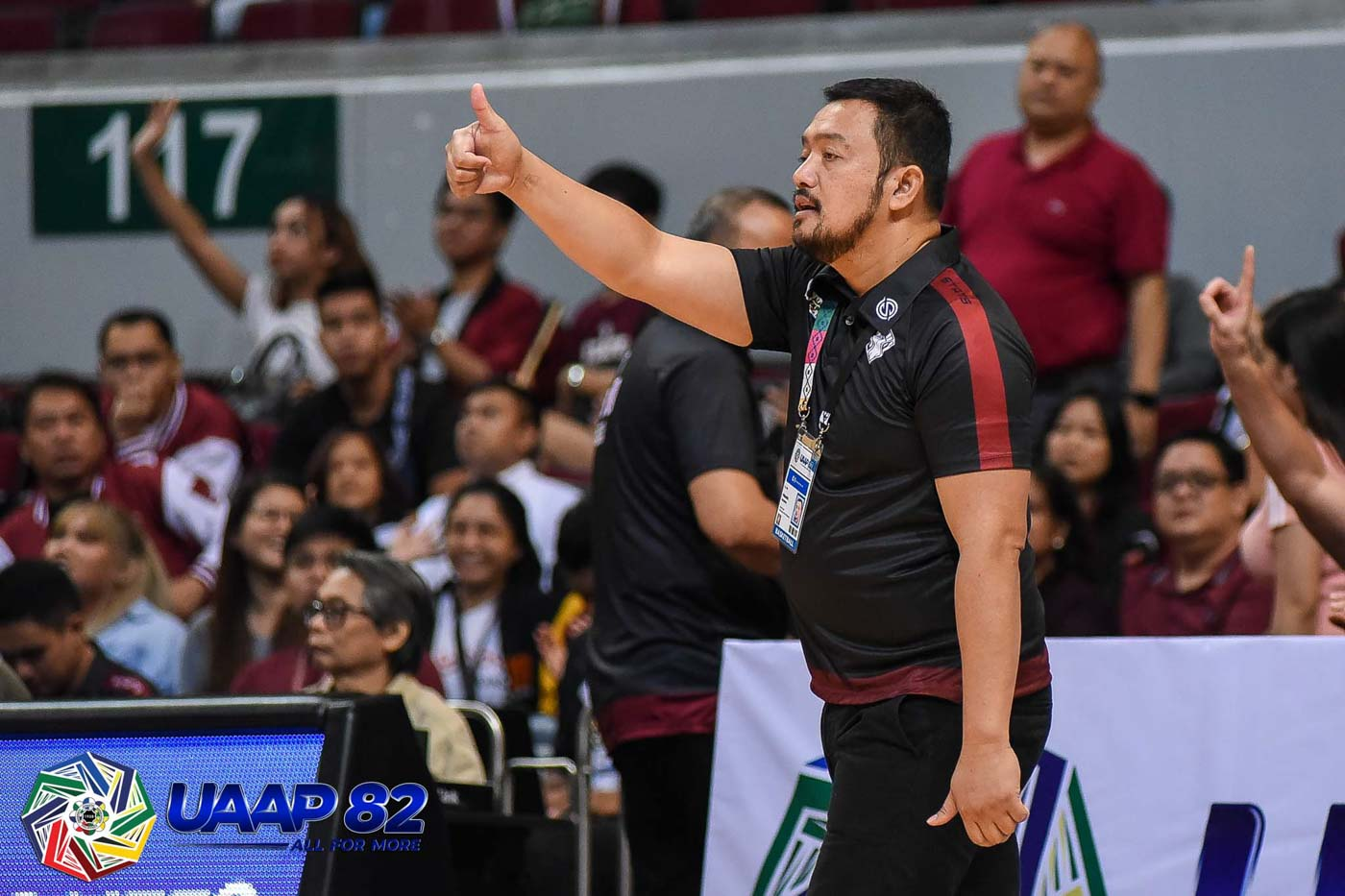 CHALLENGED. 'NU is a lot, lot better than their 0-4 slate. If you're going to get into the margin of losses they had, I think that's going to be a record now,' UP coach Bo Perasol on NU's string of stinging setbacks. Photo release