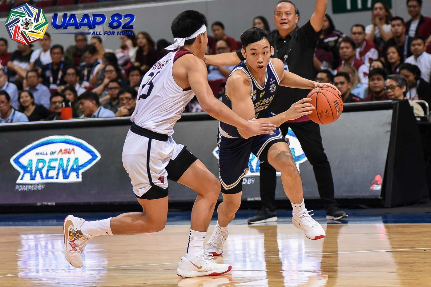 HEARTBREAKER. Dave Ildefonso and the NU Bulldogs absorb another one-point loss.Photo release