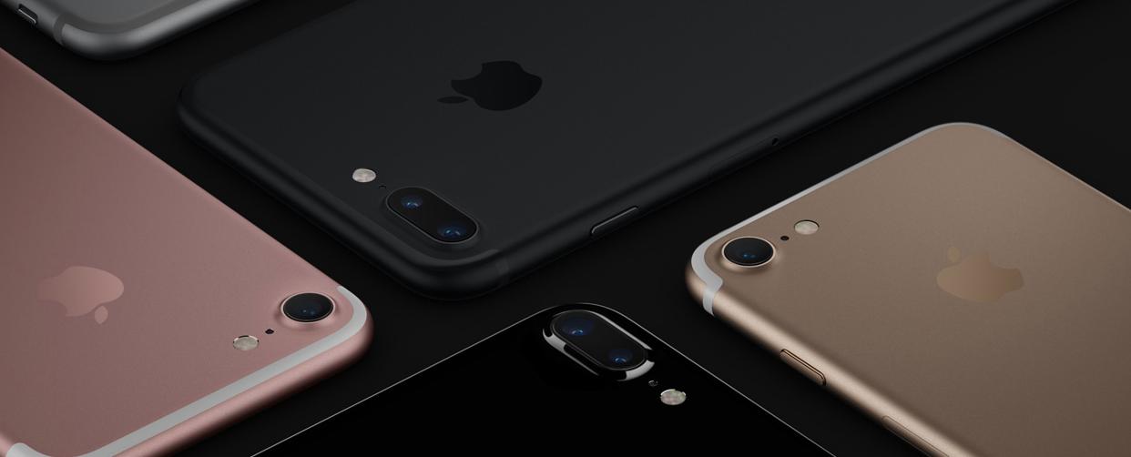 iPhone 7. Screengrab from Apple