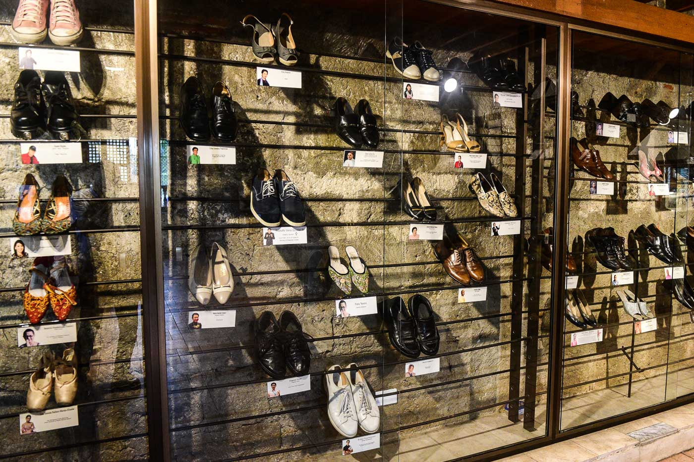 FAMOUS FOOTWEAR. The Marikina Shoe Museum features shoes from celebrities and politicians. Photo by LeAnne Jazul/Rappler