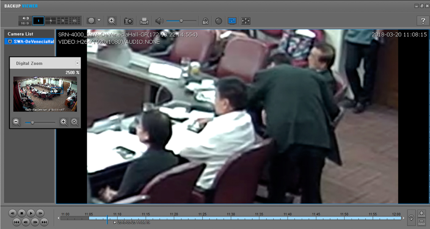 CONCEALMENT. Paras puts his phone on top of Villarin's iPhone X, which was on the latter's table. Screenshot from Villarin