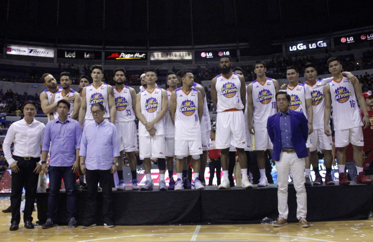 RUNNER-UP. TNT falls short in 6 games. Photo from PBA Images