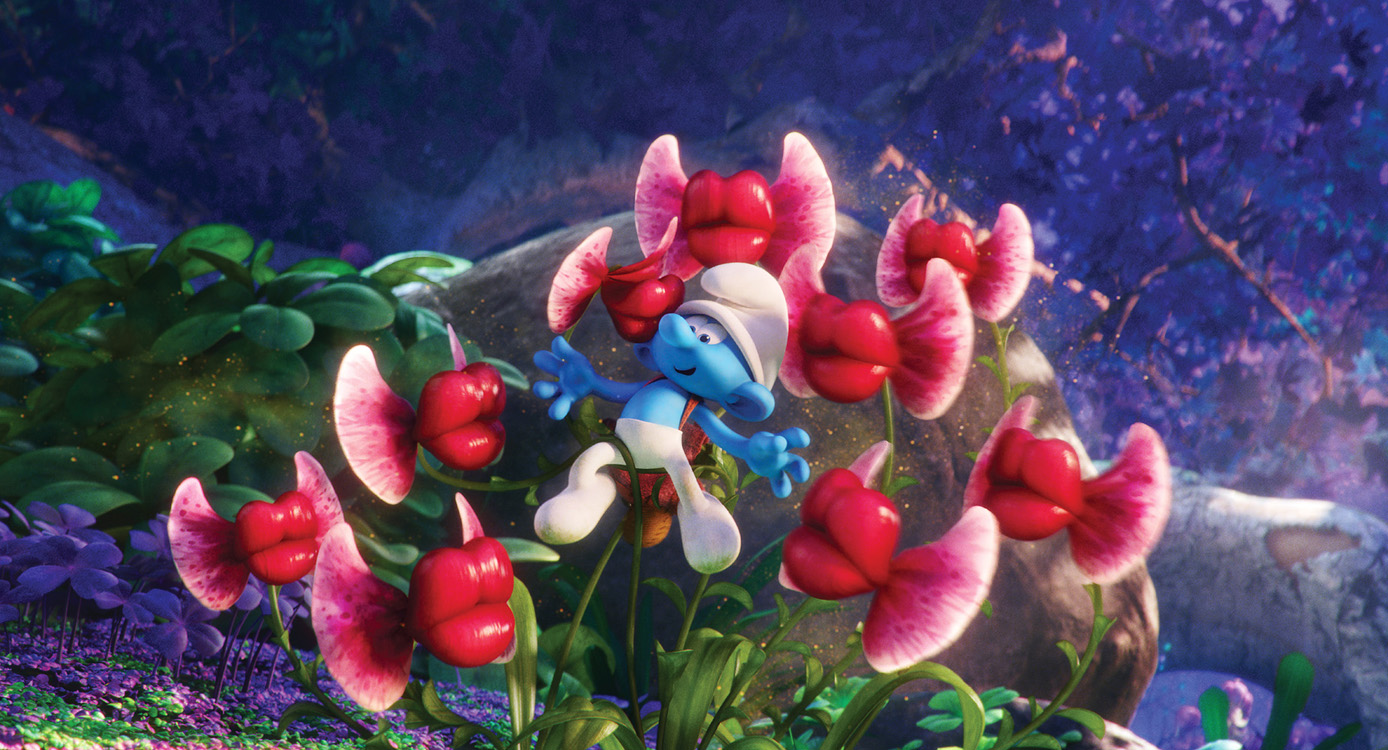 Clumsy in 'Smurfs: The Lost Village.' Photo courtesy of Columbia Pictures
