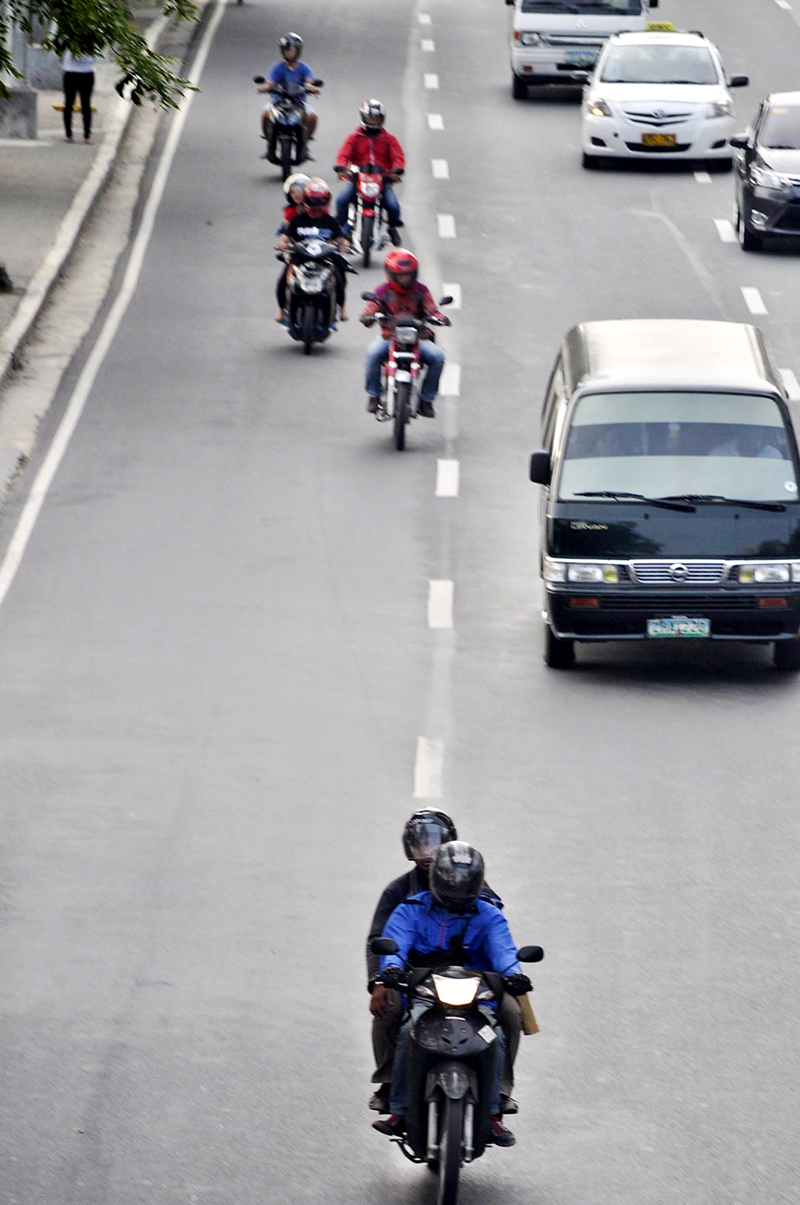 ON THE ROAD. Can BikerX be one of the solutions to the Metro's traffic woes?