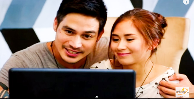 TANDEM. Piolo and Sarah G in their first movie project. Screengrab from YouTube