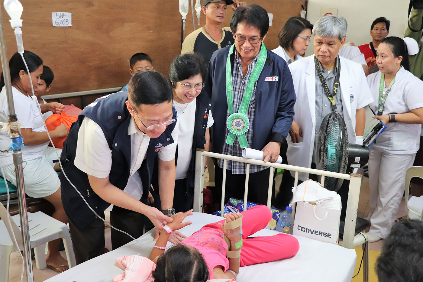 BE VIGILANT. Health chief Francisco Duque III urges local officials and communities to practice the 4S strategy in light of the epidemic. Photo from DOH Calabarzon