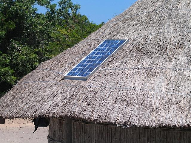 SOLAR PANELS. Any type of roofing will do! All photos provided by Earnest Mangulabnan Zabala