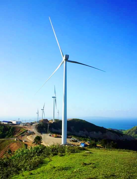 WIND POWER. These towering windmills do not just bring renewable energy but also awe and wonder among tourists and locals. Photo by Evy Yap