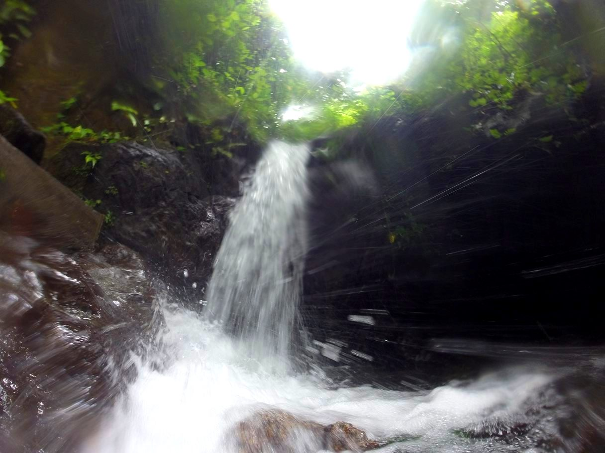 REFRESHING. Sakaan Falls near Hurom-Hurom also make for a refreshing dip. Photo by Evy Yap
