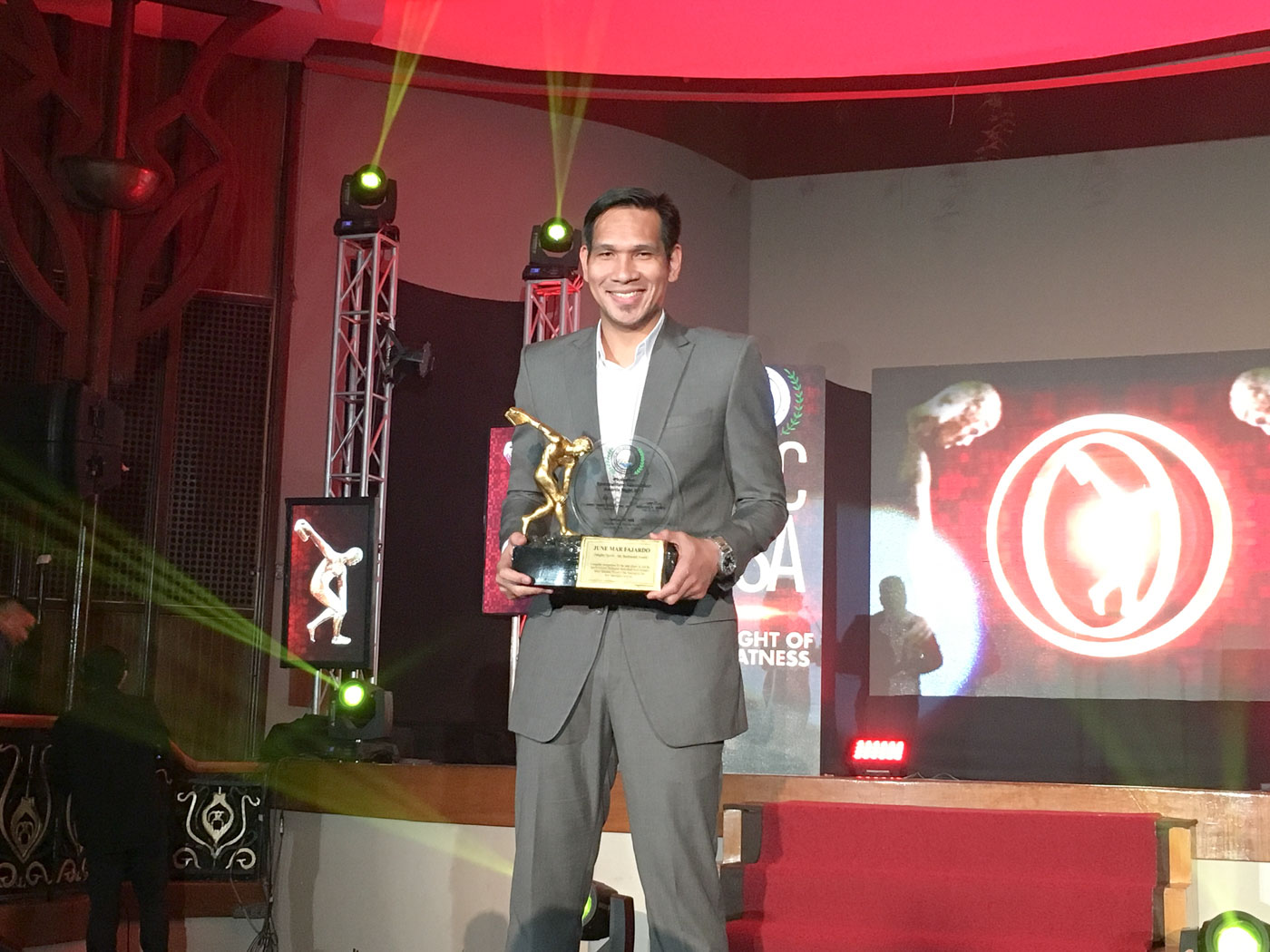 THE KRAKEN. Junemar Fajardo is the PBA's 4-time MVP. Photo by Beatrice Go/Rappler