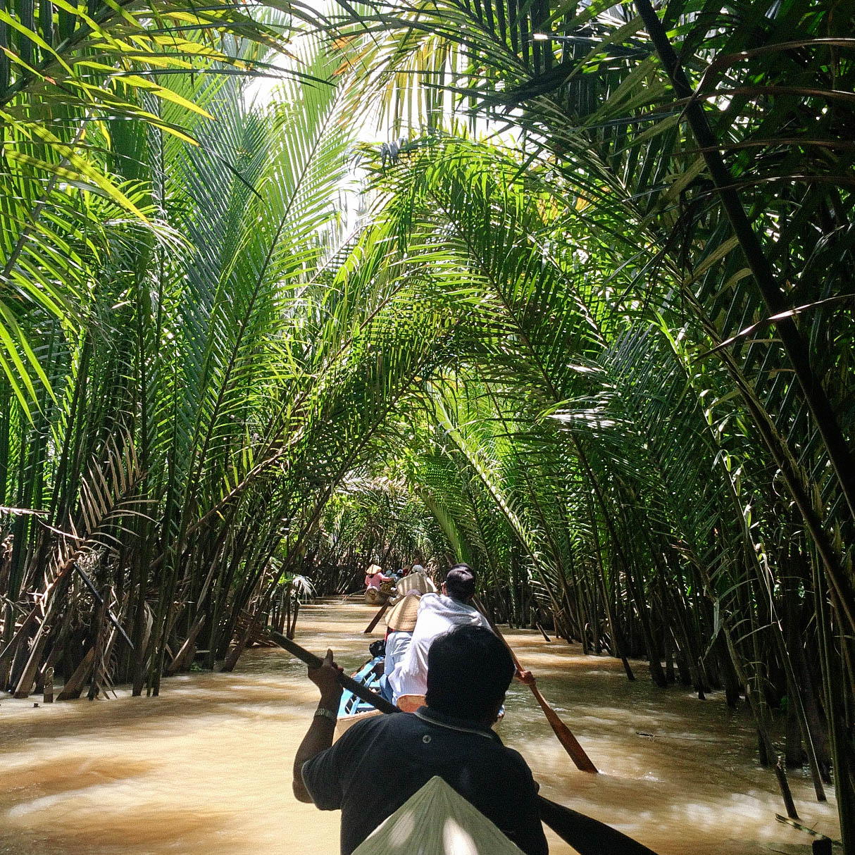 Mekong Delta tour. Photo provided by Andrea Javier