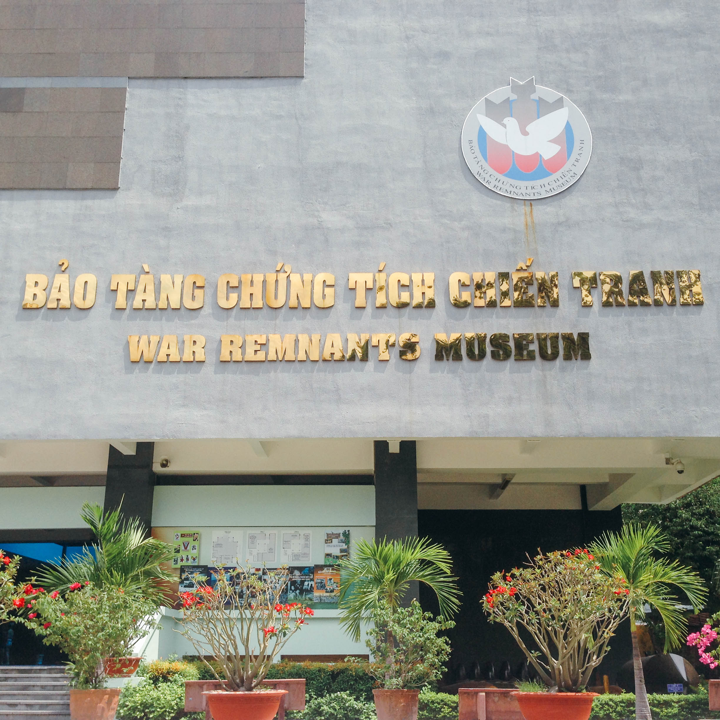 War Remnants Museum. Photo provided by Andrea Javier