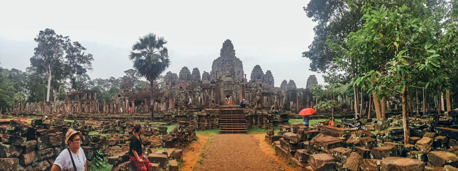 Bayon Temple. Photo provided by Andrea Javier