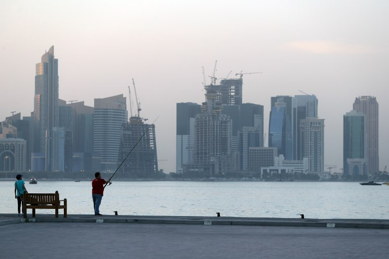 CRISIS. Qatar has been in a diplomatic row with other Gulf countries since June 5. AFP photo