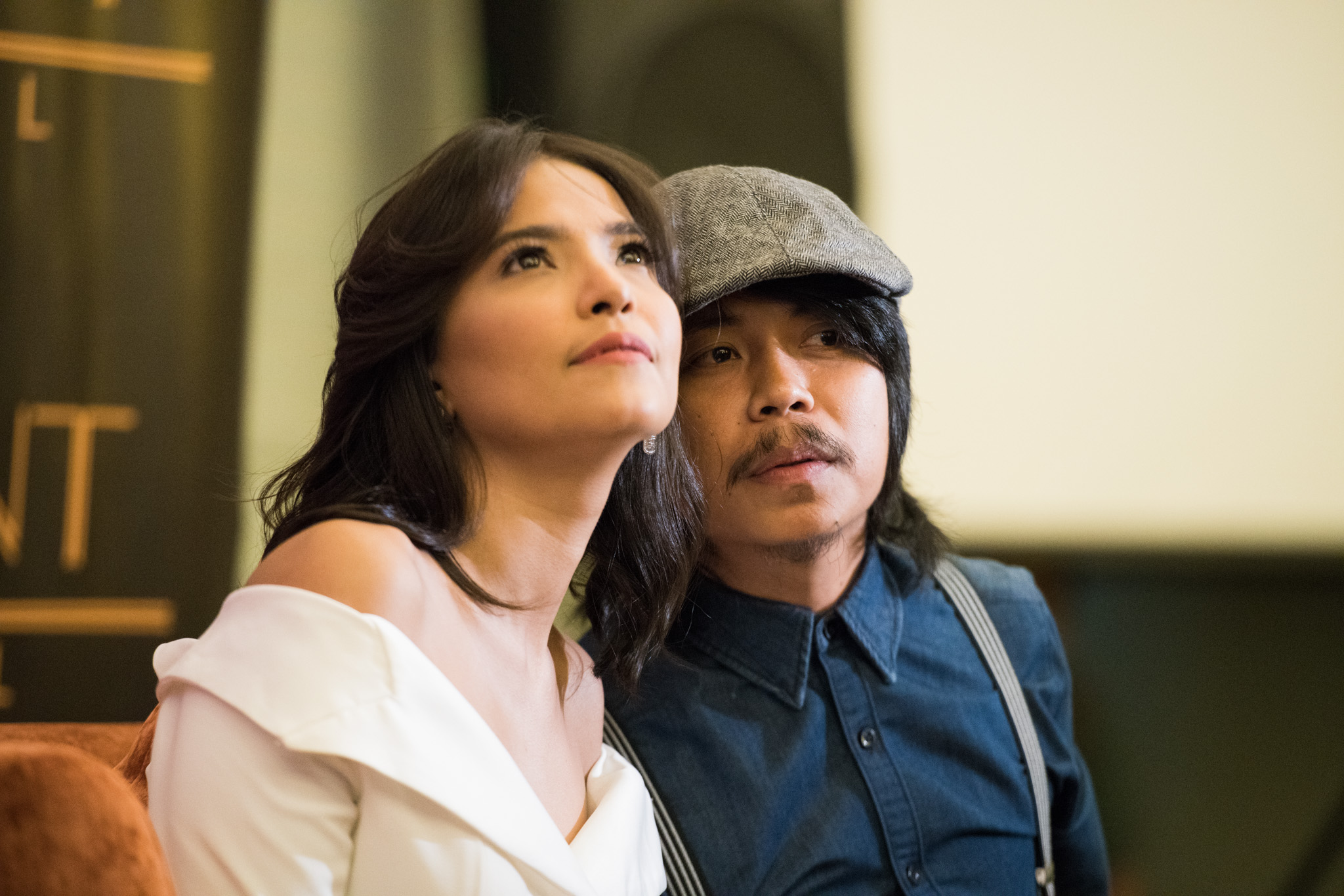 KITA KITA. Alessandra de Rossi and Empoy Marquez, pictured here at the movie's presscon, star in 'Kita Kita', which is now on its third week. Photo by Martin San Diego/Rappler
