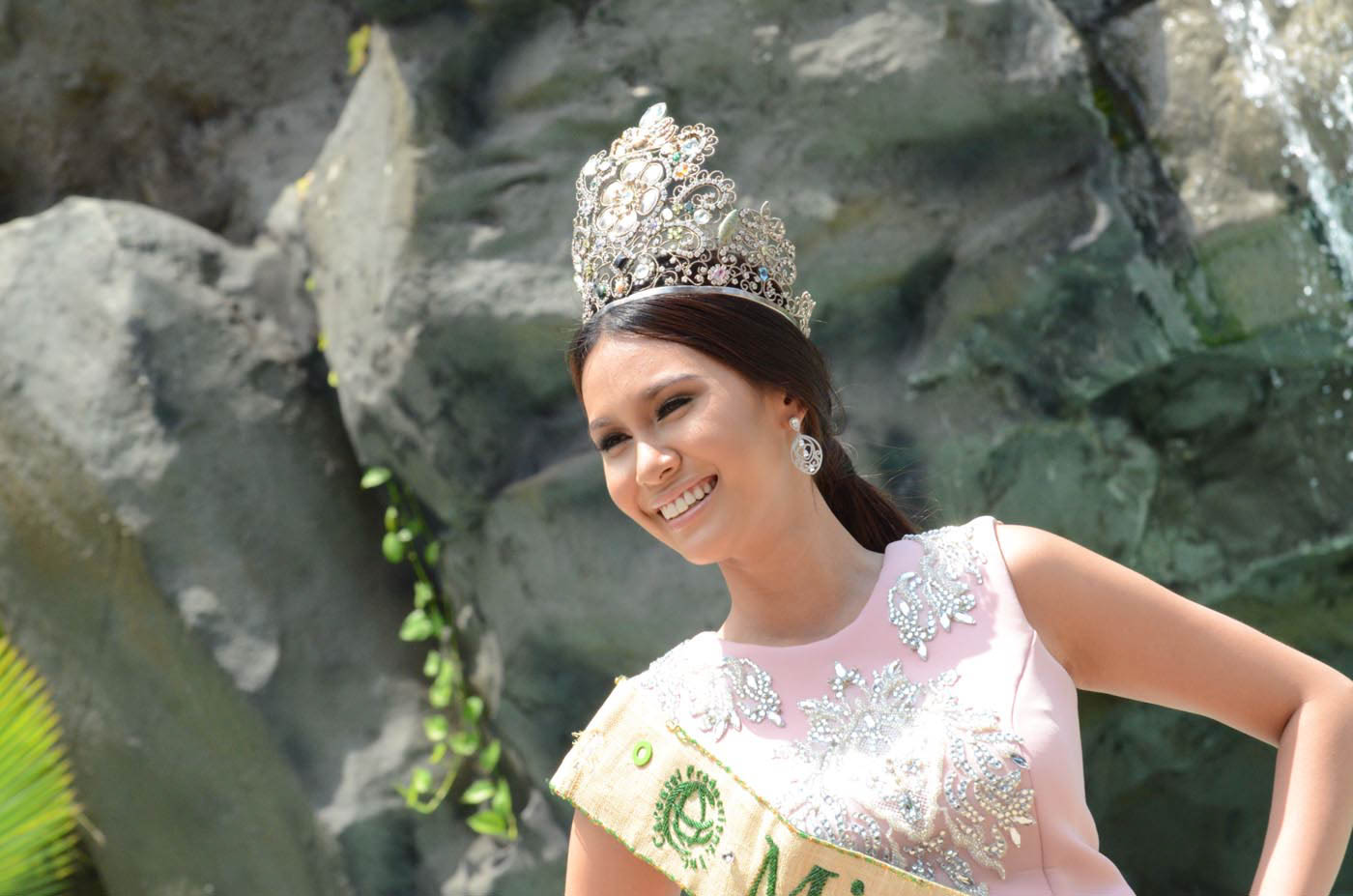 LIFE AFTER MISS EARTH. Angelia Ong works as a model and  host. File photo by Alecs Ongcal/Rappler