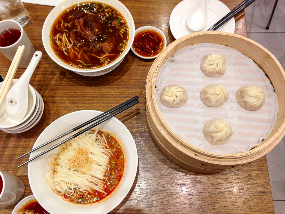 TREAT YOURSELF. Have a Taiwanese food feast at Din Tai Fung. Photo by Nikka Sarthou-Lainez