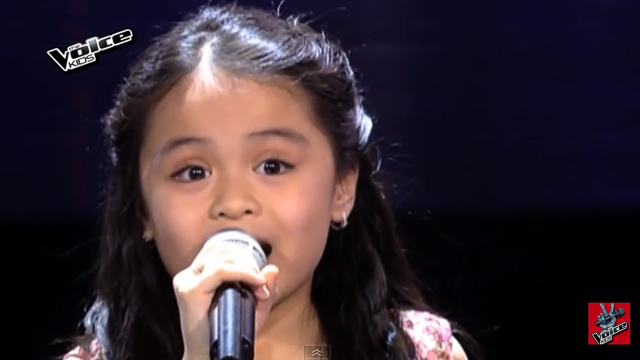 ESANG. The little girl sings 'Home' from 'The Wiz' for her 'Voice Kids PH' blind audition. Screengrab from YouTube