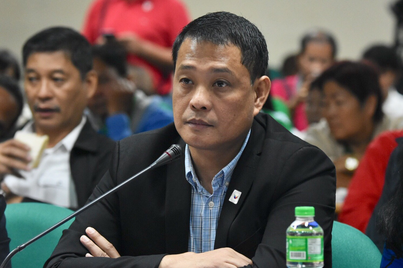 NFA RICE. Some senators and the inter-agency NFA Council hit NFA chief Jason Aquino for the NFA rice price hike. File photo by Angie de Silva/Rappler