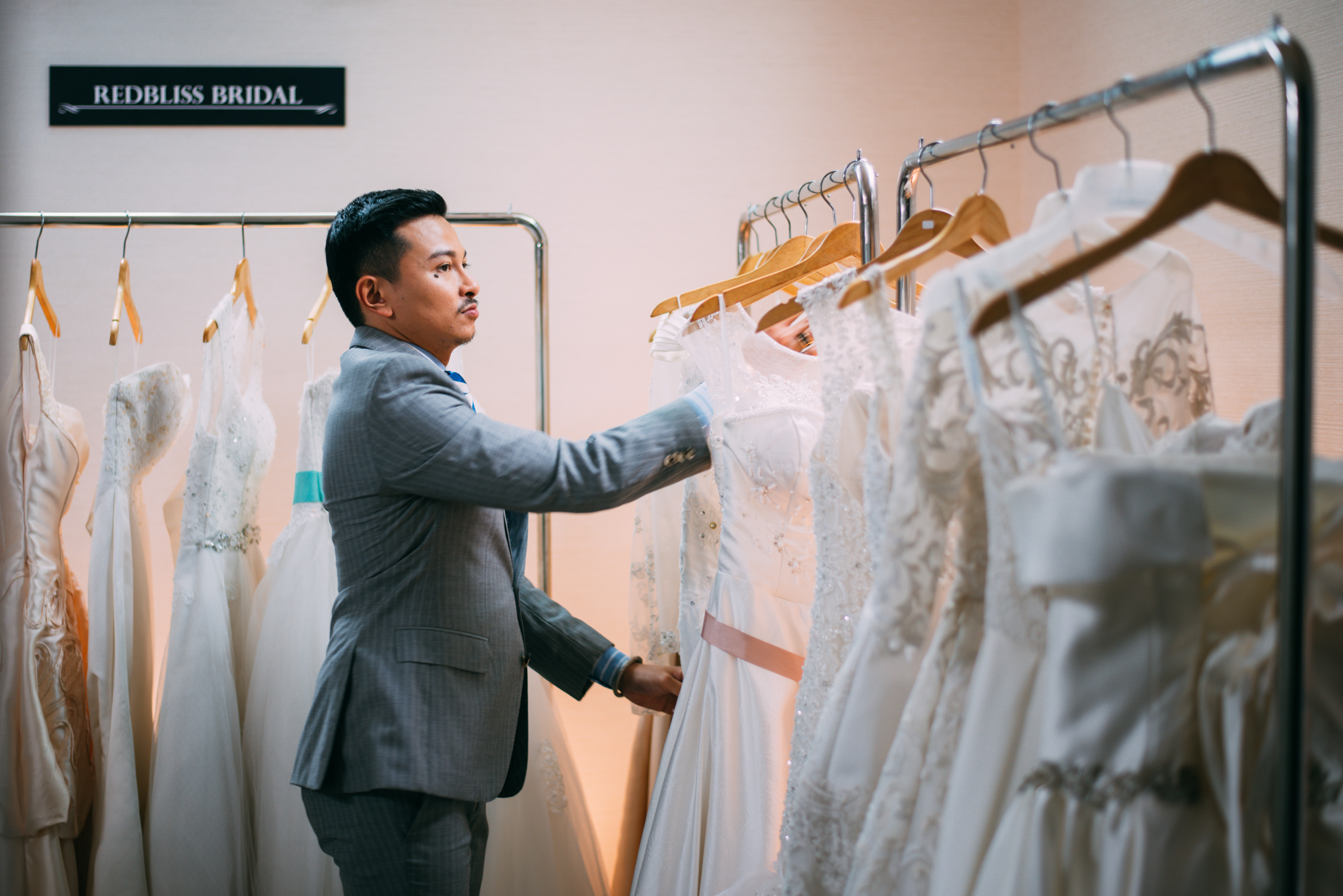 'Say Yes To The Dress Asia' host and fashion designer Jovian Mandagie