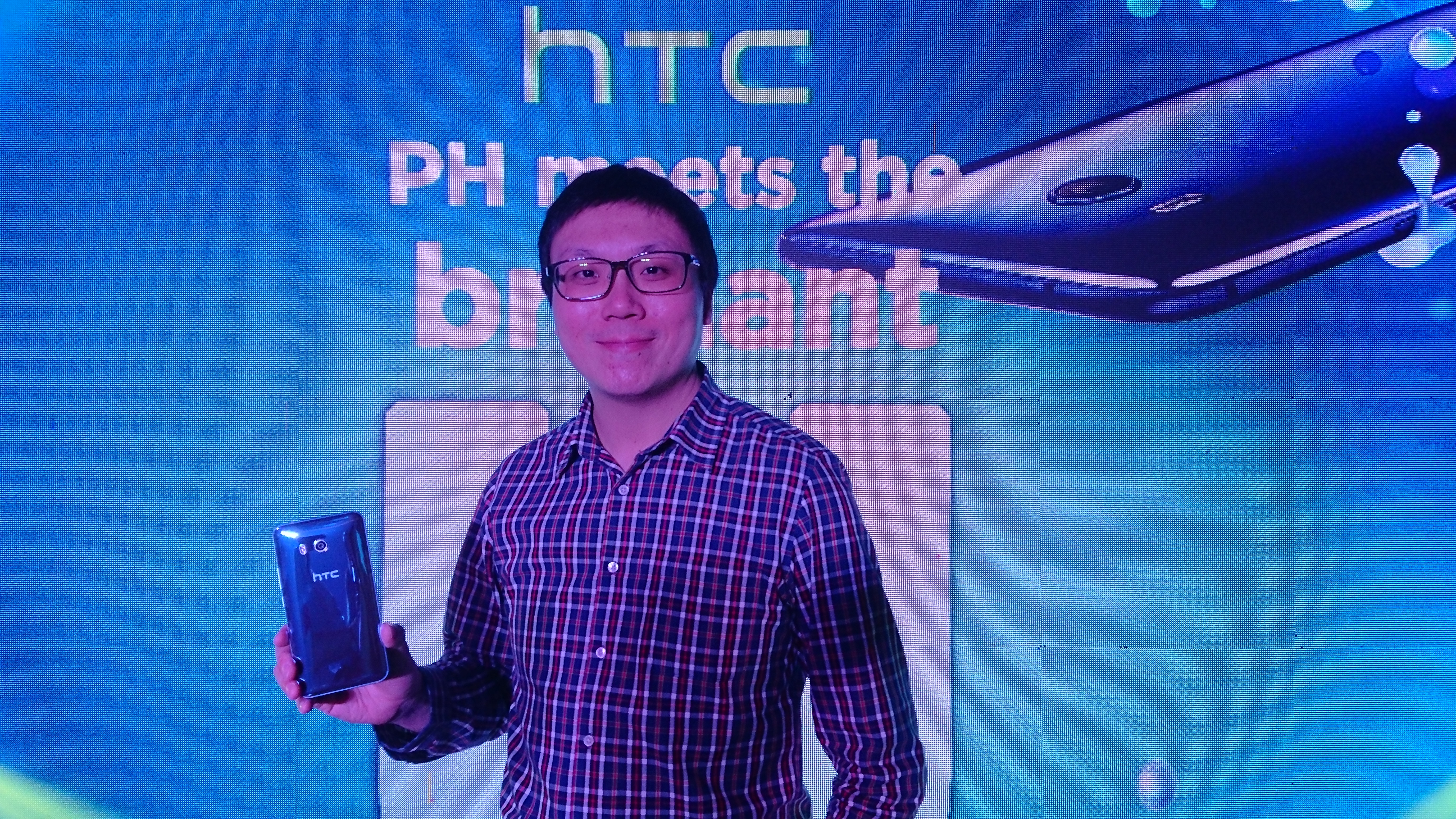 WAYNE TANG. HTC's associate director for global product marketing says the biggest change in the PH market since their departure around 2013 is the influx of Chinese phone makers. Photo by Gelo Gonzales/Rappler