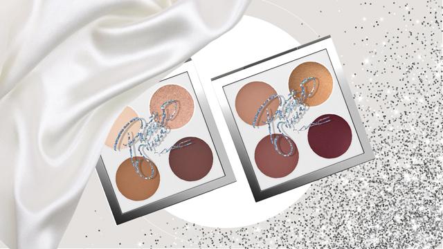 Eyeshadow quads in Patrickstarrr Glam AF and Patrickstarrr Goalsetter (P2,500 each)