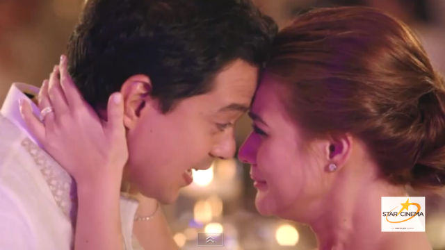 POPOY AND BASHA. A still from a new teaser for 'A Second Chance,' the sequel to the 2007 hit 'One More Chance.' Screengrab from YouTube/Star Cinema