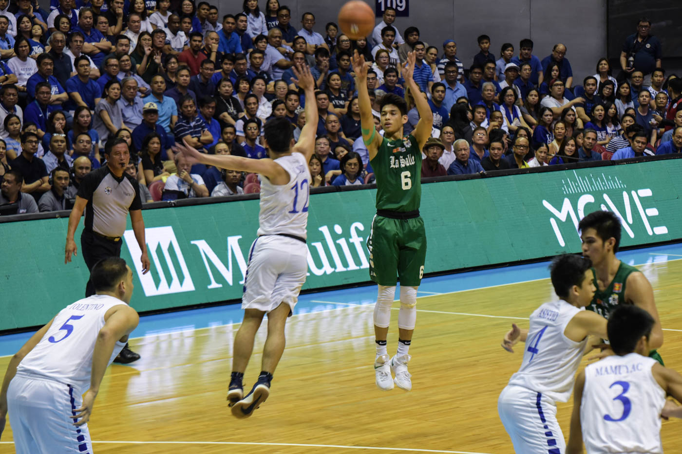 FAN FAVORITE. De La Salle Green Archers' Ricci Rivero is Twitter's most talked-about Filipino athlete this year. Photo by Alecs Ongcal/Rappler