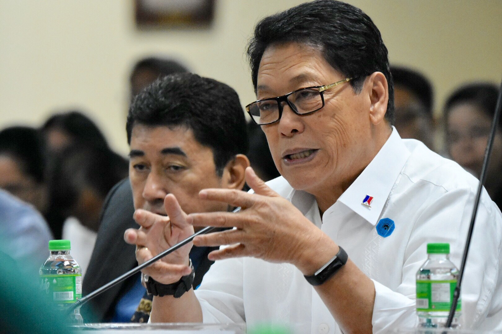 OMBUDSMAN APPLICANT. Labor Secretary Silvestre Bello III is among the applicants for the post of Ombudsman. File photo by Angie de Silva/Rappler