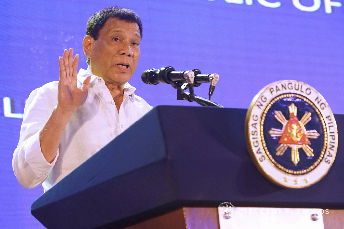 FEDERALISM. President Rodrigo Duterte is pushing for Charter Change to make way for a federal form of government. Malacau00f1ang photo