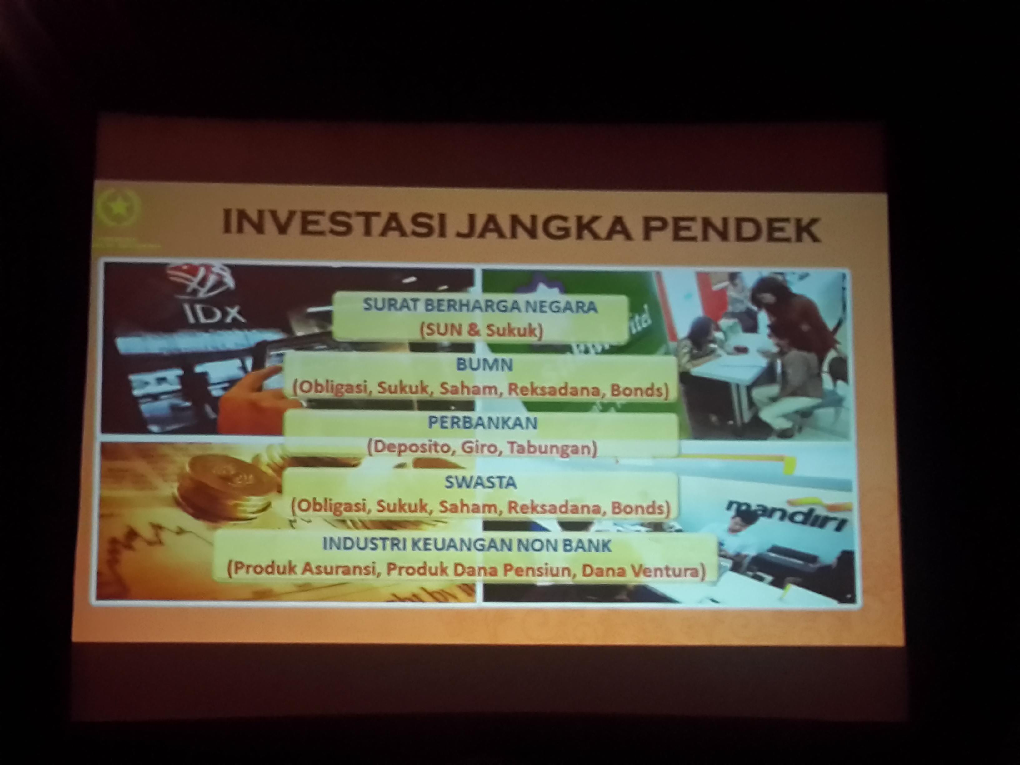 Presentasi Jokowi tentang Instrumen Investasi Jangka Pendek Dana Tax Amnesty. Foto oleh Uni Lubis/Rappler