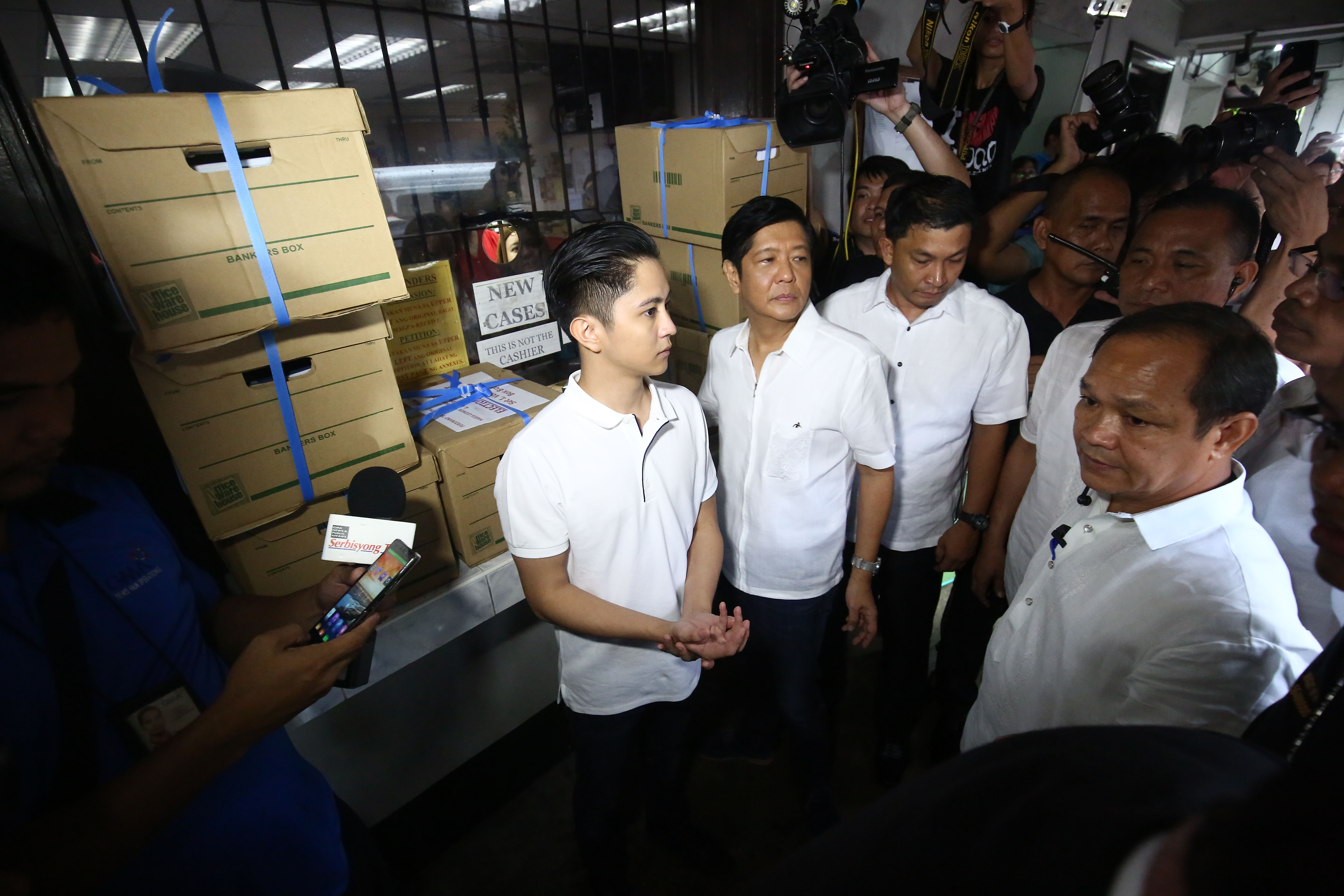 NOT DILG? File of defeated vice presidential candidate Bongbong Marcos. File photo by Ben Nabong/Rappler