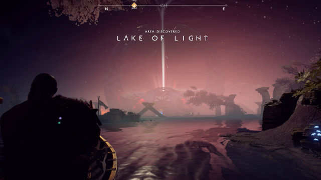 PSEUDO-OPEN WORLD. The structure of the game is a lot less linear than previous games, allowing for more freedom in exploring beautiful locales such as the 'Lake of Light' featured here.