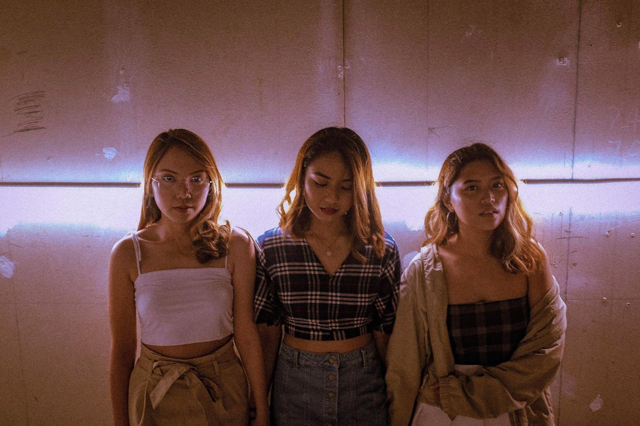 THREE OF US. Photo by Merphi Panaguiton