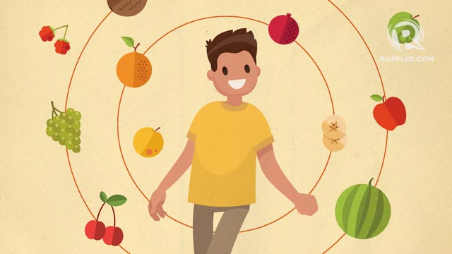 12 FRUITS. Putting 12 different kinds of fruits is believed to bring abundance