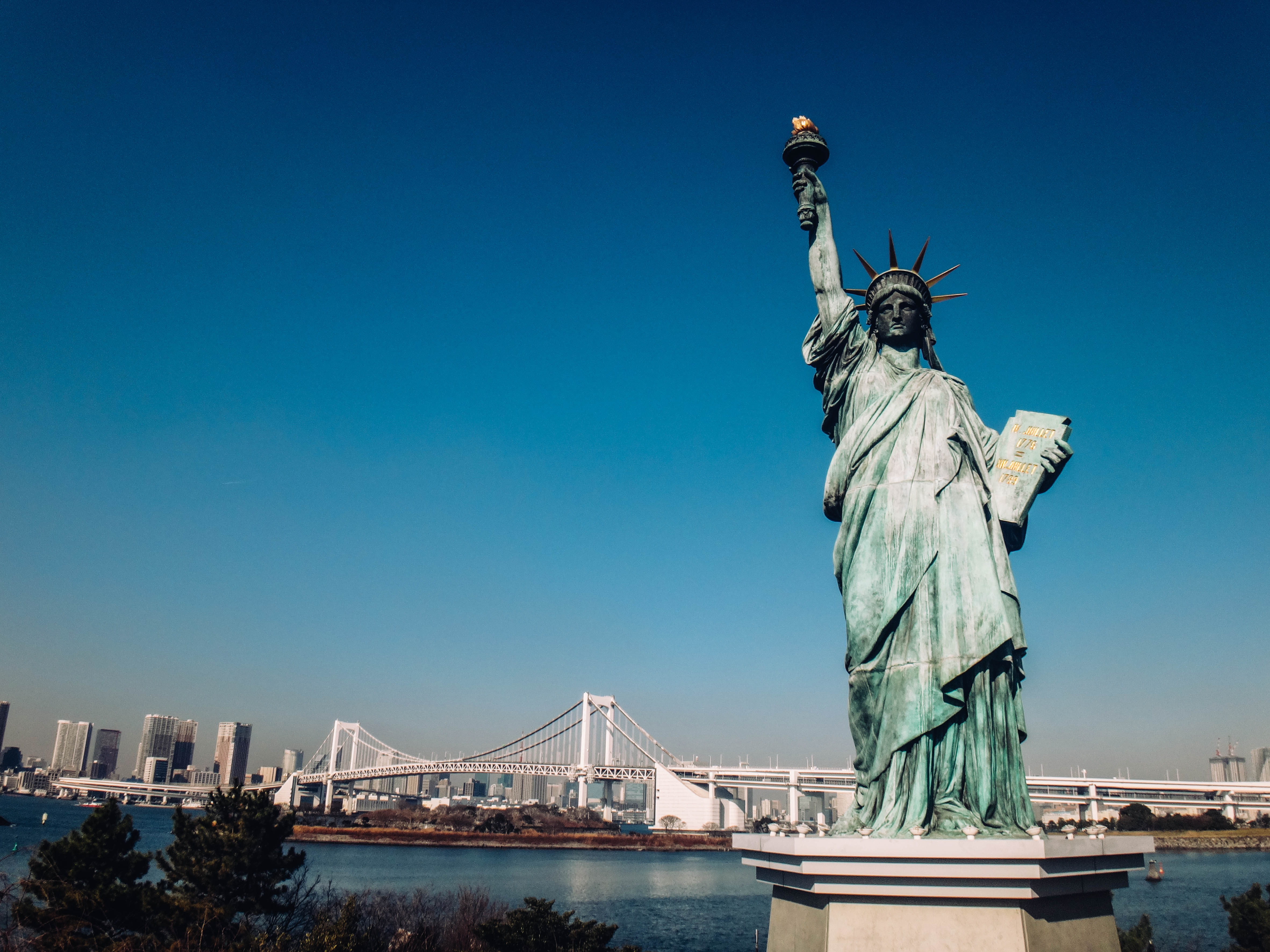 STATUE OF LIBERTY. A replica of the famous New York icon found in Odaiba. Photo provided by Irene Maligat