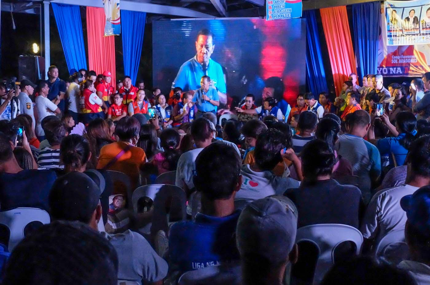 ON THE HOMESTRETCH. Will Binay's machinery propel him to the presidency? Photo by Alecs Ongcal/Rappler