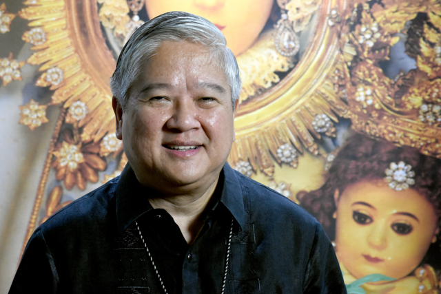 MISSION ACCOMPLISHED. Archbishop Socrates Villegas tells Rappler it was a 'grace from God' to serve as CBCP president for 4 years. Photo by Angie de Silva/Rappler
