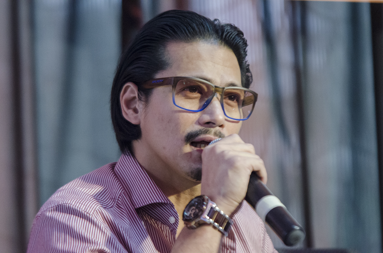 HISTORICAL POINT OF VIEW. Robin Padilla says the plans to bury the late president Ferdinand Marcos should be looked  from a historical point of view and that the youth should have a chance to think for themselves. Photo by Rob Reyes/Rappler