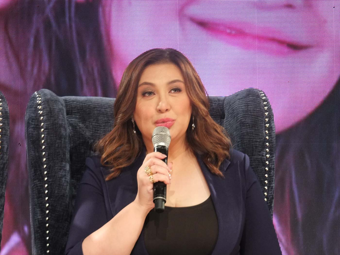 LOOKING FORWARD. Sharon Cuneta says she's looking forward to the day daughter KC will settle down.