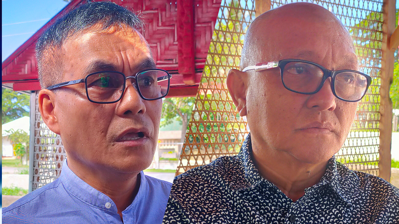 UNJUST. Camiguin town mayors Joseph Uayan of Sagay (left) and Helenio Abecia of Guinsiliban say the DILG guidelines came in late, and evaluators didnu2019t have a clear idea what they were grading local governments for. Photo by Bobby Lagsa/Rappler
