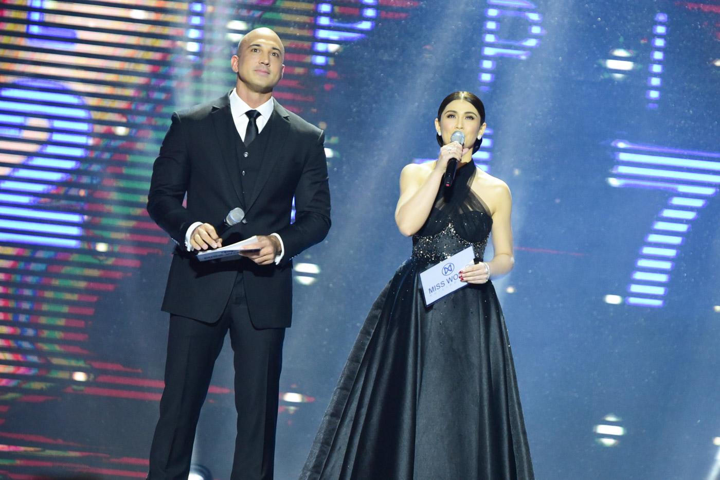 Carla with host KC Montero.