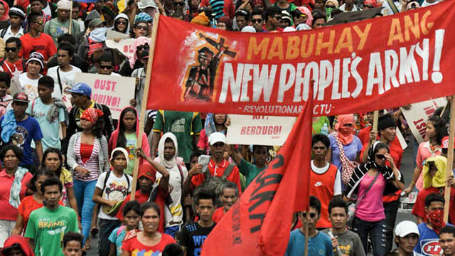 BAILIWICK. The Davao region is a bailiwick of the New People's Army. File photo by Rappler