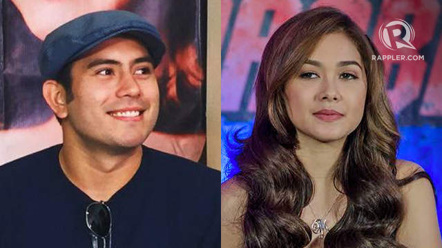 Gerald Anderson and Maja Salvador. File photos by Vernise L. Tantuco u0026 Rob Reyes/Rappler