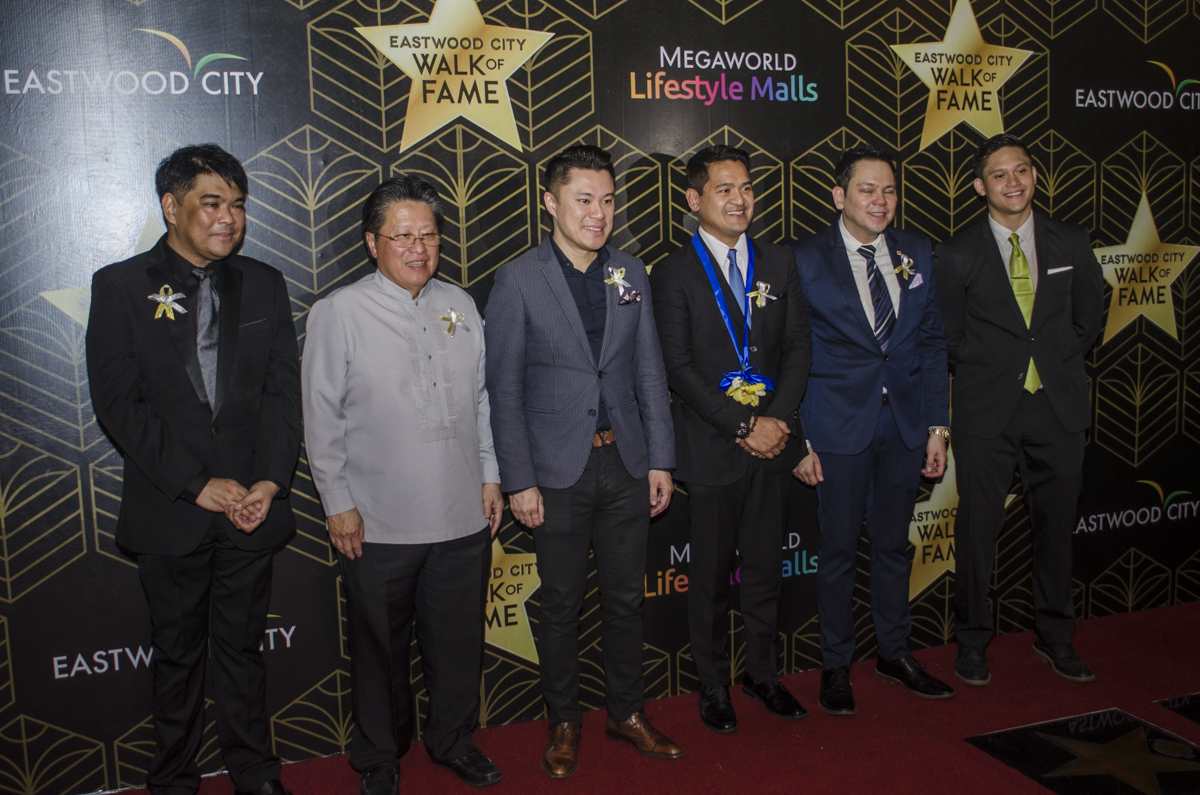Jiggy Manicad along with the German Moreno Walk of Fame Philippines Board of Trustees.