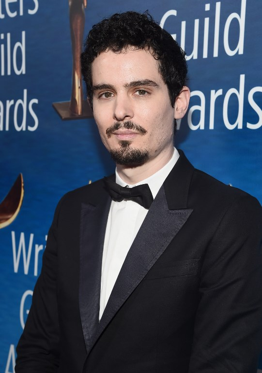 DAMIEN CHAZELLE. The director attends the 2017 Writers Guild Awards LA Ceremony February 2017. Photo by Alberto E. Rodriguez/Getty Images for WGAw/AFP
