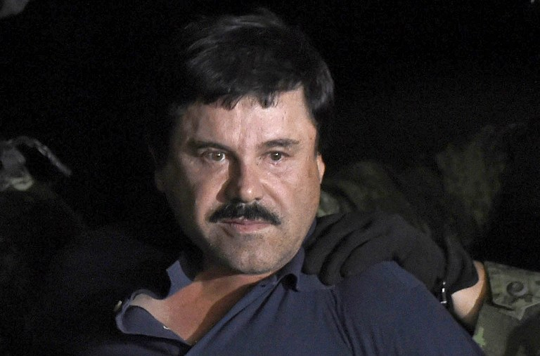 ALL-TIME. The US Drug Enforcement Agency calls convicted mobster Joaquin 'El Chapo' Guzman 'the world's greatest drug lord of all time.' Photo by Alfredo Estrella/AFP