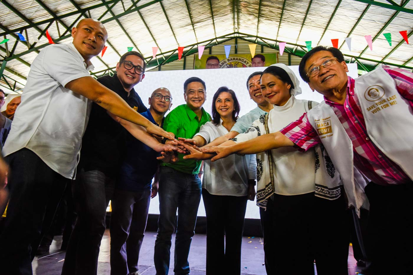 OPPOSITION. The election lawyer is part of the opposition's senatorial slate. Photo taken in Marikina on October 24, 2018, at the slate's launch. File photo by Maria Tan/Rappler