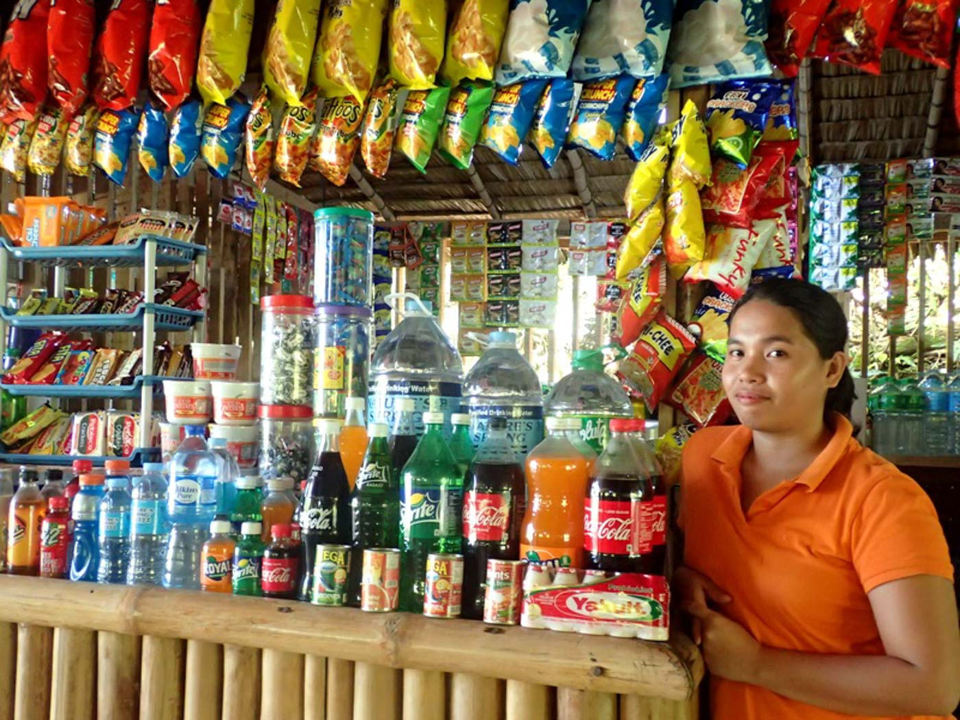 DRY GOODS. Also in the uphill area are the dry goods stalls. Photo by Claire Madarang/Rappler